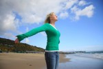 イメージを使いながら呼吸法を行い、心身を浄化する
