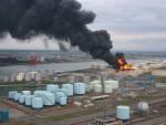 2003年十勝沖地震のよる石油タンクの火災1