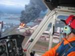 2003年十勝沖地震のよる石油タンクの火災2