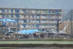 茨城県つくば市の竜巻被害3