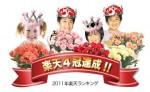2年連続【楽天4冠マーク】2011年 2012年
