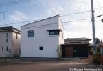明石台の家 全景
