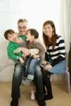 家族写真撮影からの一枚