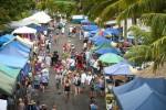 クック諸島土曜日のマーケット