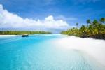 クック諸島 アイツタキのラグーンです。