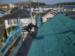 横浜市内にて屋根工事