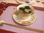お鍋で余った牡蠣を焼き餅とスープ仕立てに