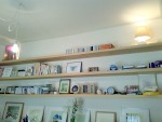 厚さ4cm 長さ3.6m の杉板を使った飾り棚