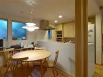 北欧に暮した家族の家 ダイニングキッチン