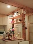 杉の床の家に暮らす猫達