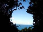 〜心落ち着く場所〜 三庫理(さんぐーい)から眺める神の島