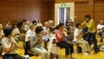 チェアロビクス、日本橋社会教育会館のゆうゆう講座