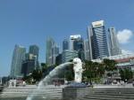 シンガポール(マーライオン)風景