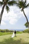 ハワイ挙式 マウイ島 海の見えるパーティ会場 ギャノンズ