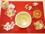 りもんちぇーろ 3月期レッスンの〆は・・弥生のお菓子&お抹茶