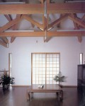 平塚の家  建替え事例  2階に天井の高いリビングを計画