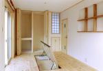 リフォーム 室内/床下収納庫、クローゼットの扉を開く。