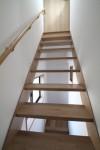 リノベーションの家 スケルトン階段