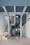 11坪の家に10層のフロア 小石川T邸/BW3  06