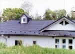 平塚の家 約3m程高い西側隣地より見る