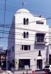 恵比寿の家 南側外観/専用住宅+賃貸オフィス