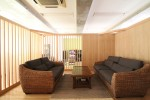 オフィスデザイン 木の応接室