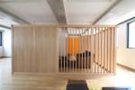 オフィスデザイン  木の箱