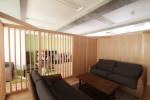 オフィスデザイン 応接室