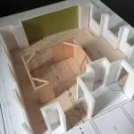 オフィスデザイン  模型