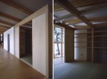 祠と神木を残して建替えた平屋の高齢者住宅 KS邸 10