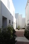 中庭のあるテラスハウス 小道