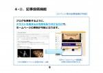【ホームページ更新システムの例】 イベント等の記事投稿が可能