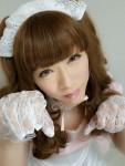 凄腕・りんちゃんメイド女装写真公開(*´з`)年齢ピッタンコ