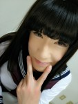 凄腕・続・JK女装メイク♡〇〇〇〇ちゃん公開~(*´ω`*)