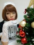 ツンが多めメイド系女装メイクゆきちゃん♡ニューバージョン