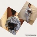 8月の浴衣