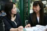 京都のカフェで英会話プチレッスン