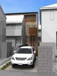 将来二世帯にできる様に計画した3階建完成見学会