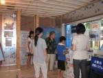 全室バルコニー付、個室重視の3階建て構造見学会