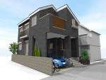 広々バルコニー付2階LDK オール電化住宅の2階建完成見学会