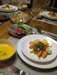 身近な食材で作る、コース仕立てのクリスマスフレンチレッスン