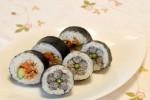 華やかな春の巻き寿司2種と利尻昆布×本枯れ鰹節のお吸い物