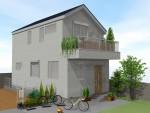長期優良住宅認定!20帖床タイル貼り2階LDK 構造見学会