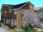 太陽光発電3.127kw設置 自然素材たっぷりの家 完成見学会