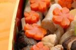 基本のおだしと、旬を楽しむおこわ、炊き合わせと魚料理