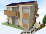 太陽光発電2.31Kw設置 注文省エネ住宅 完成体感見学会