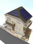 太陽光発電設置(2.66kw) 注文省エネ住宅 完成体感見学会