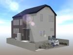 2Fの全室にロフト付きの住まい、注文省エネ住宅、構造見学会